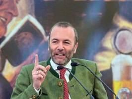 Gedankenspiele auf Bundesebene: Weber flirtet mit den Grünen