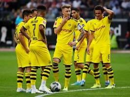 RB Leipzig und FC Bayern vorne: Borussia Dortmund stolpert in Frankfurt