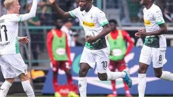 Bundesliga: Dank Thuram: Gladbach kämpft sich zu Sieg gegen Düsseldorf