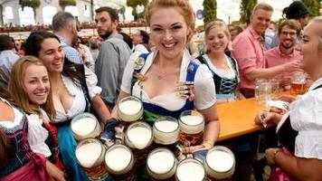 Lust auf die Wiesn: Bilderbuchstart für das Oktoberfest