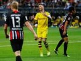 Dortmund verspielt gegen Frankfurt die Führung