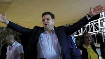 arabische parteien in israel wollen gantz stützen und netanjahu zu fall bringen