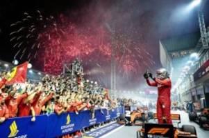 Formel 1: Feuerwerk für Vettel im Nachtrennen von Singapur