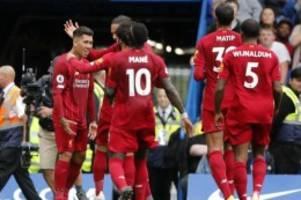 Premier League: FC Liverpool setzt Siegesserie beim FC Chelsea fort