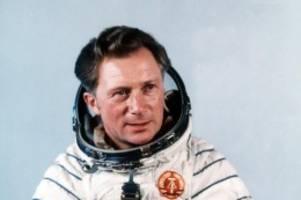 Raumfahrt: Kosmonaut Sigmund Jähn ist tot