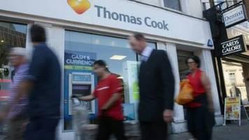 Reisekonzern Thomas Cook hofft auf Rettung durch britische Regierung