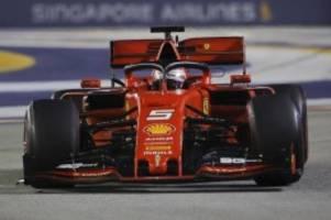 Formel 1: Ende der Leidenszeit: Vettel triumphiert in Singapur