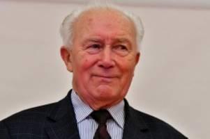 Trauer: Erster deutscher Raumfahrer Sigmund Jähn gestorben