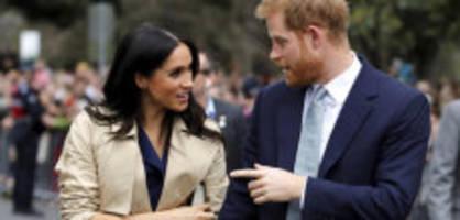10 tage in südafrika : harry trennt sich auf royal-tour von meghan