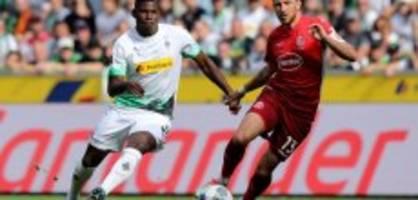 Bundesliga: Gladbach dreht die Partie gegen Düsseldorf