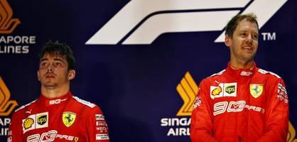 Bei Vettels Triumph fühlt sich Leclerc hintergangen