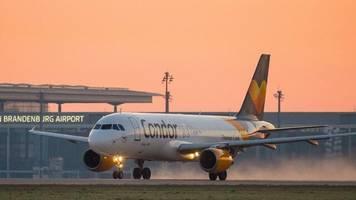 Airline: Thomas-Cook-Tochter Condor hält Flugbetrieb aufrecht