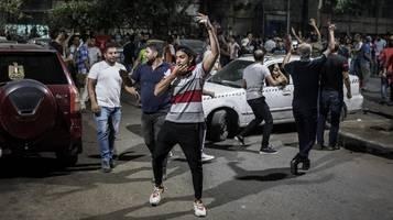 Proteste in Ägypten: Polizei geht mit Tränengas gegen Demonstranten vor