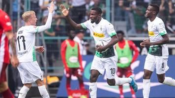 2:1! Borussia Mönchengladbach dreht das Spiel gegen Fortuna Düsseldorf