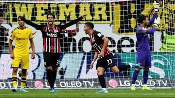 Bundesliga: Irre Schlussphase! Eintracht Frankfurt trotzt Borussia Dortmund einen Punkt ab