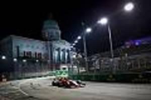 Formel 1 - GP von Singapur im Live-Ticker
