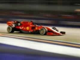 Formel 1 in Singapur: Vettel siegt, Leclerc ist sauer