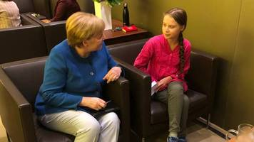 UN-Klimagipfel: Trump erscheint überraschend bei Klimagipfel – Merkel trifft Greta Thunberg
