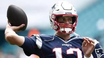 American Football: NFL: Brady führt New England zum Sieg gegen New York