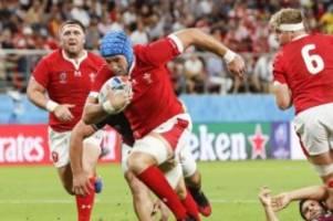 weltturnier in japan: mitfavorit wales startet mit erfolg in rugby-wm