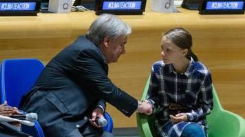 Treffen der Vereinten Nationen : Warum Greta Thunberg beim UN-Klimagipfel sprechen darf und manche Staatschefs nicht