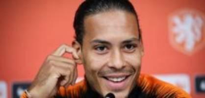 Weltfussballer: Van Dijk, Ronaldo, Messi - einer wird Weltfussballer