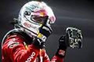 Ferrari-Star erlöst sich in Singapur - Vettel nicht auf Social Media: Briefe brachten den Glauben zurück