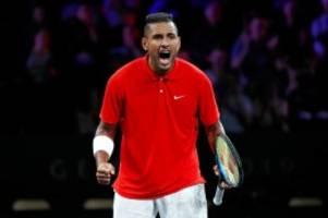 tennis: so schlimm ist tennis-rüpel nick kyrgios