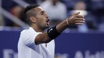 fehlverhalten des tennisprofis: australier kyrgios spielt sechs monate auf bewährung