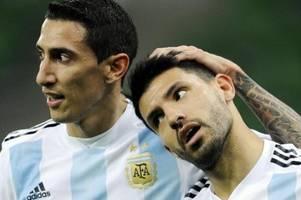 argentinien ohne agüero und di maria gegen dfb-elf