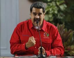 """maduro: venezuela bekommt """"völlige unterstützung"""" von russland im rüstungsbereich"""