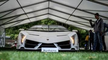 25 luxusautos von Äquatorialguineas vizepräsident in der schweiz versteigert