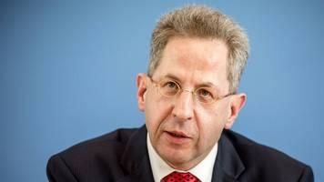 ex-verfassungsschutzpräsident: hans-georg maaßen fängt bei medienanwalt höcker an