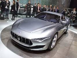 Autonom, elektrisch, emotional: Die Zukunftspläne von Maserati