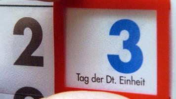 thüringen feiert tag der deutschen einheit