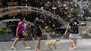 hitzewelle in den usa: 36 grad zum herbstanfang – washington bricht rekord