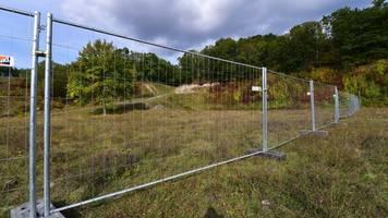kz-gedenkstätte buchenwald: leerer stollen entdeckt