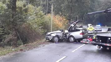 18 Jahre alter Autofahrer stirbt bei Zusammenstoß mit Baum