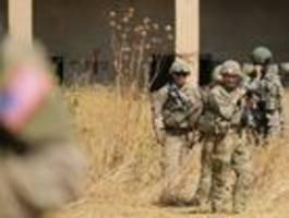 washington zieht truppen aus kurdengebiet in nordsyrien ab