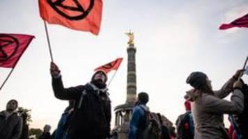 Extinction Rebellion: Blockaden, Festnahmen und Kritik