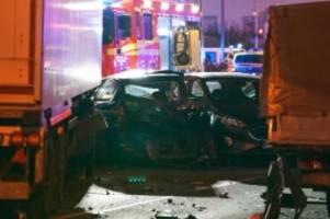 Polizei korrigiert Opferzahl: Neun Verletzte bei Lkw-Zwischenfall von Limburg