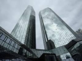 Einsparungen: Deutsche Bank will hierzulande offenbar 9000 Stellen streichen