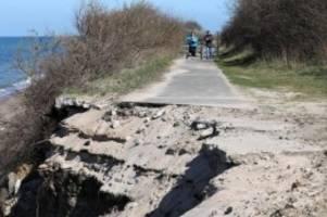 tourismus: studie belegt hohen finanzbedarf für radwege-sanierung