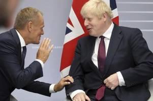 johnson glaubt nicht mehr an erfolg der brexit-gespräche