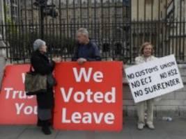brexit-gespräche: alles läuft nach johnsons plan