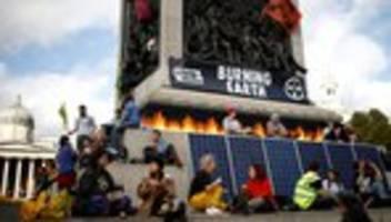 Extinction Rebellion in London: Der Brexit saugt alle Energie auf