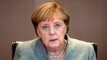 Reaktionen auf Anschlag: Merkel spricht Opfern von Halle ihr Beileid aus