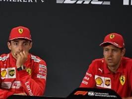 Formel-1-Luxus mit Crashgefahr: Fahrerzoff macht Ferrari zum Pulverfass