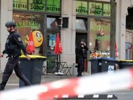 Vorfall an Synagoge und Imbiss: Zwei Tote bei Schießerei in Halle