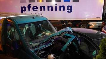 fotos oder videos: nach lkw-vorfall: polizei hofft auf zeugen
